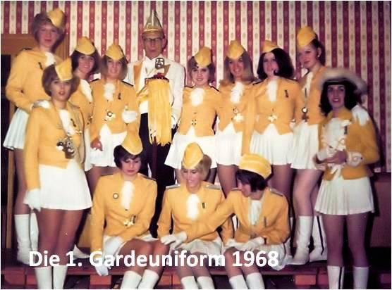 Die erste Uniform • Generalprobe 1968