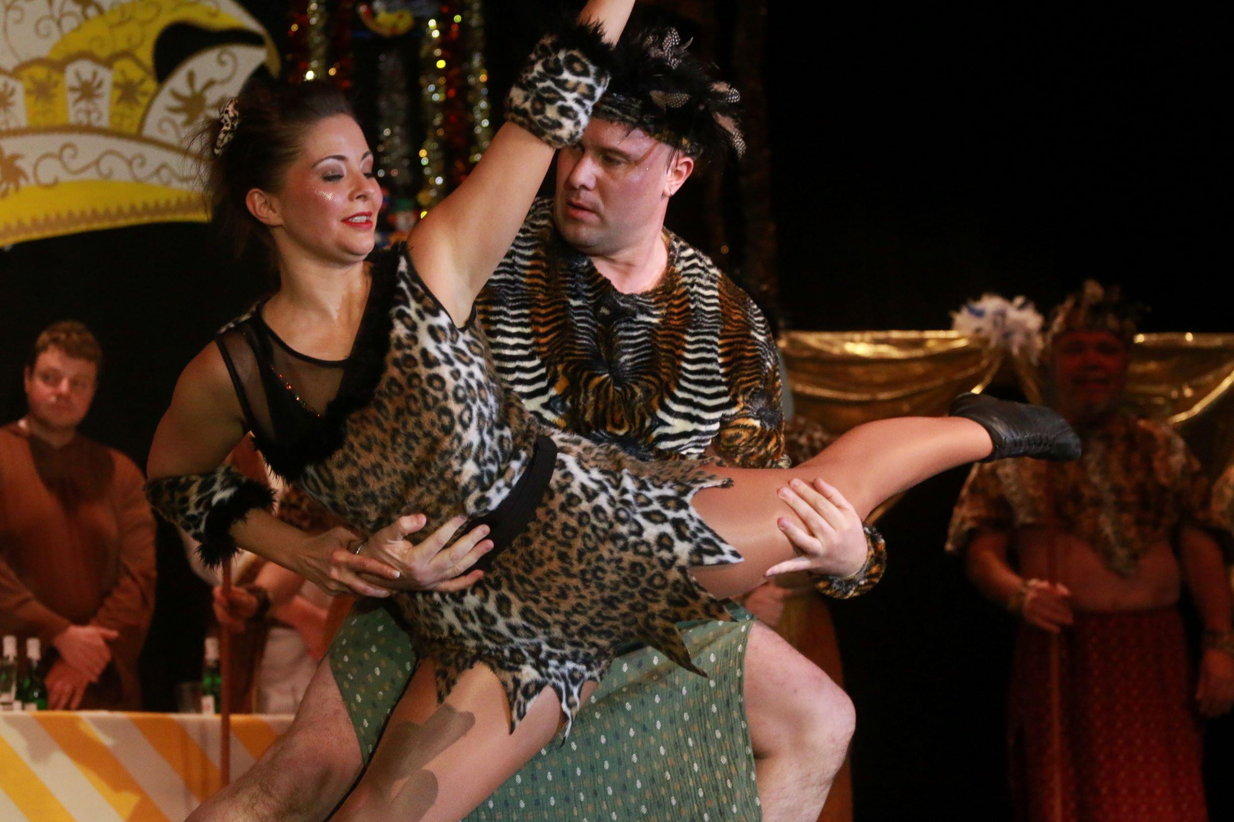 Tanzpaar Afrika